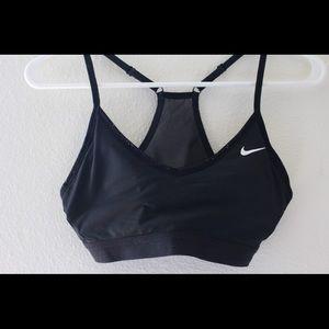 Nike Black Light Hold Sports Bra